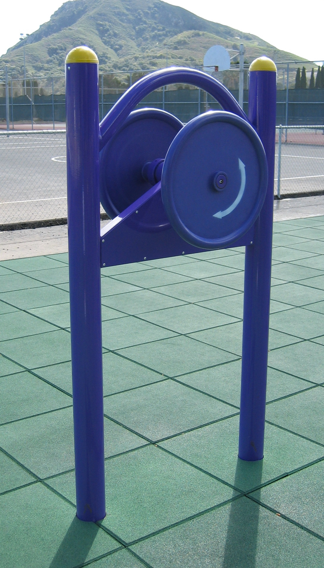 Outdoor Fitness Equipment Strength Tester