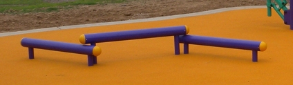 Outdoor Fitness Bounding Bars 2