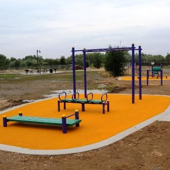 Outdoor Fitness Equipment Clovis California