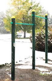 Outdoor Fitness Pull Up Station