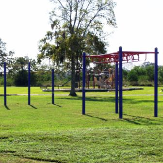Outdoor Fitness Equipment Johnson Space Center