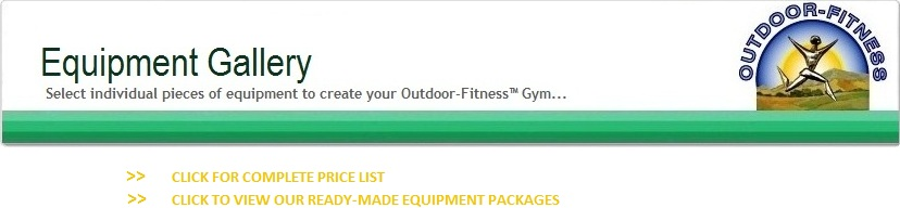 Outdoor Fitness Equipment Product Gallery