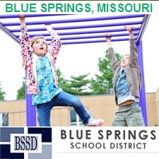 Outdoor Fitness Equipment BLUE SPRINGS MISSOURI KANSAS CITY JOHN NOWLIN ELEMENTARY SCHOOL DISTRICT TRAIL FIELD TRACK HEALTH PARK PARCOURSE KIDS ADULTS YOUTH FIT education communty athletic complex park gym Facility