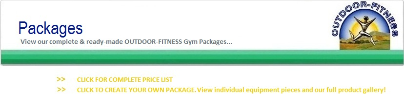 Outdoor Fitness Equipment Packages