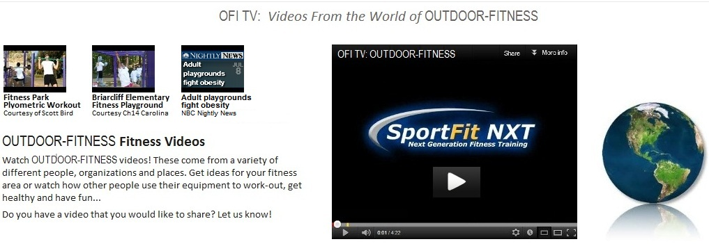 Outdoor Fitness Equipment Television OFI TV
