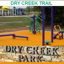 Outdoor Fitness Equipment california dry creek work out rec recreation parcourse trail health wellbeing playground adult youth children kids seniors communty athletic complex park gym Facility