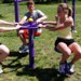Outdoor Fitness Equipment Playground Gym Sitting Rotator