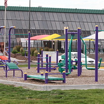 Outdoor Fitness Park Installation