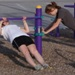 Outdoor Fitness Equipment Park Trail Course Strength and Stretch Bars