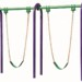 Outdoor Fitness Equipment Trail Course Park Playground Military Swing Set