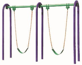 Outdoor Fitness Equipment Swing Set