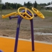 Outdoor Fitness Equipment Trail Course Park Playground Military Tai Chi Spinner