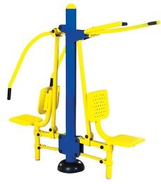 Outdoor Fitness Equipment Chest Press - Lat Pull