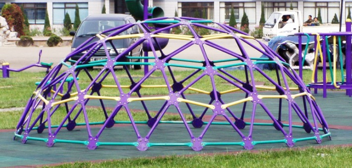 Outdoor Fitness Playground Park Dome Climber