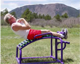 Outdoor Fitness Course Sit-up Board