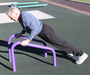 Outdoor Fitness Equipment Push Up Stand